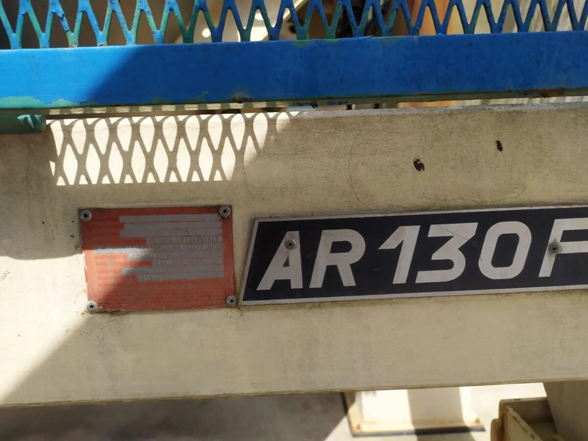 Pressa a membrana diemme AR130 usata